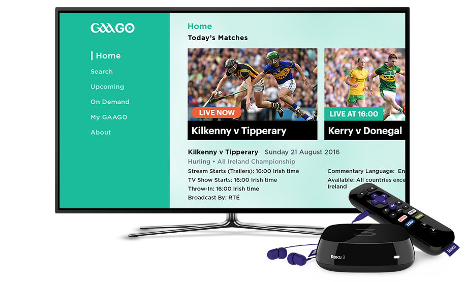 GAAGO: Watch GAA Games (Live & On Demand) on the official